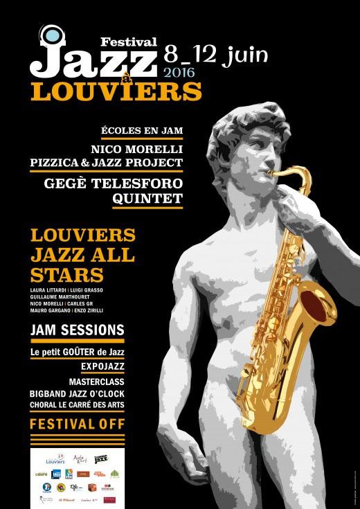 Affiche Jazz a Louviers OK